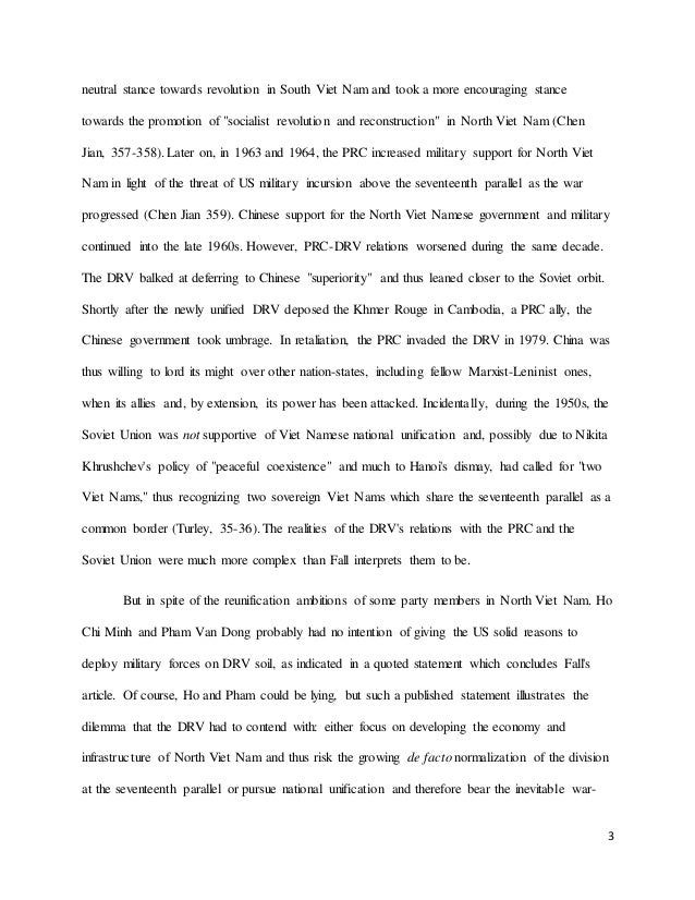 autumn history the vietnam war final exam essay  3