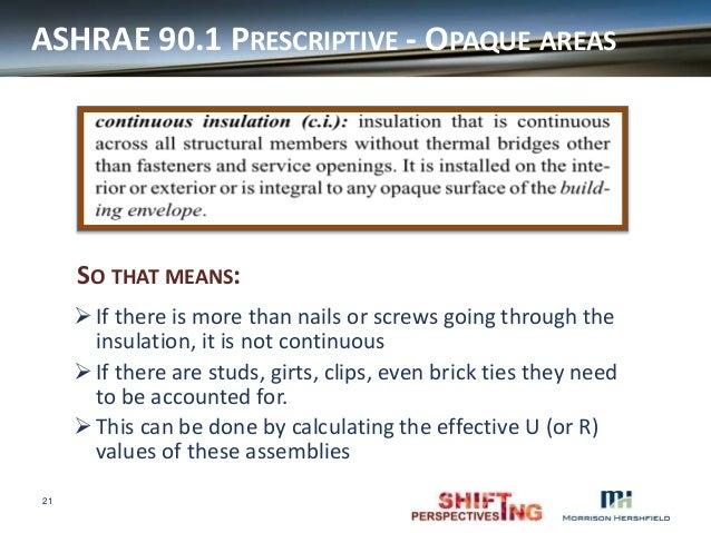 2014 bcbc envelope compliance ashrae 90 1 and necb for R15 vs r19 insulation