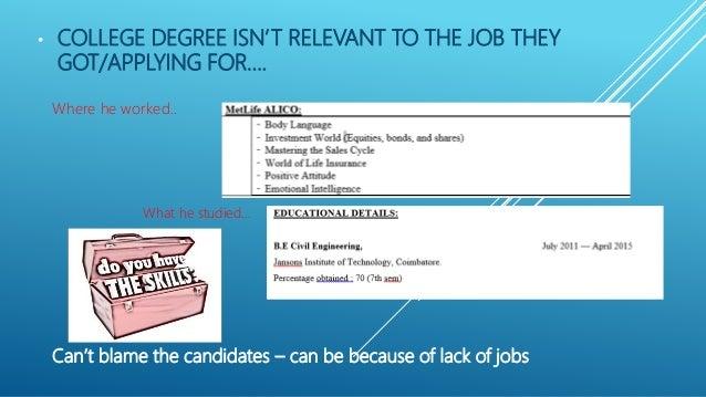 candidates resumes