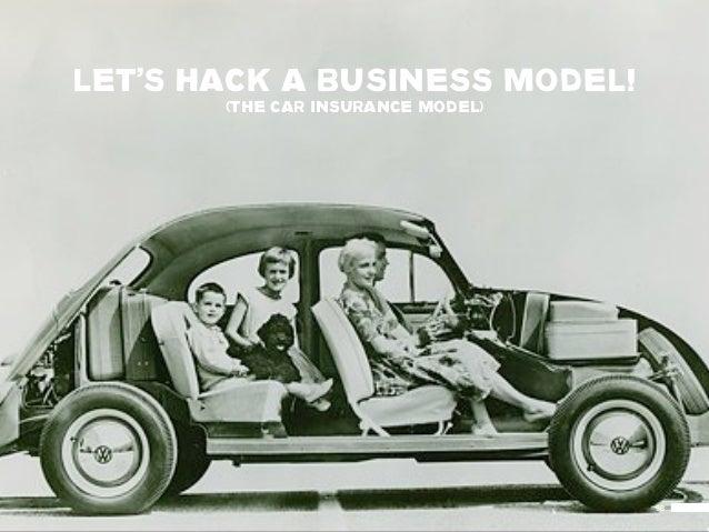 LET'S HACK A BUSINESS MODEL!       (THE CAR INSURANCE MODEL)                                   98