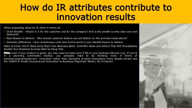 How do IR attributes contribute to innovation results Learning and entrepreneurial orientation are analyzed in more detail...