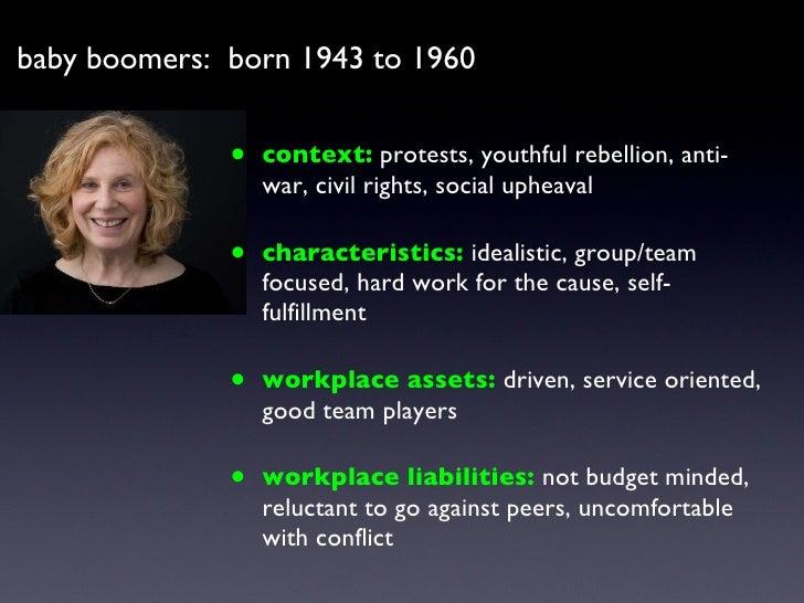 <ul><li>context:   protests, youthful rebellion, anti-war, civil rights, social upheaval </li></ul><ul><li>characteristics...