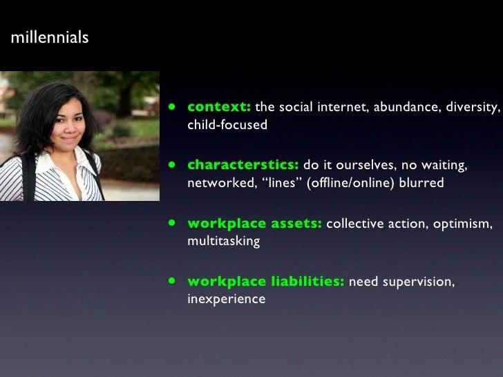 <ul><li>context:   the social internet, abundance, diversity, child-focused </li></ul><ul><li>characterstics:  do it ourse...