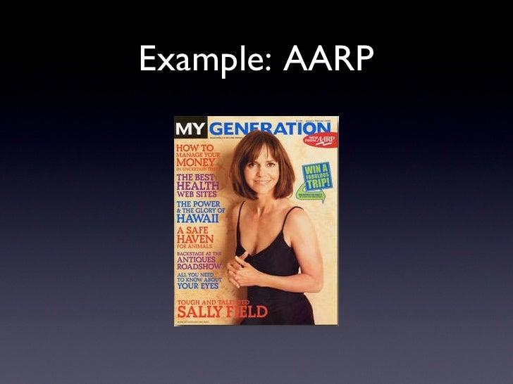 Example: AARP