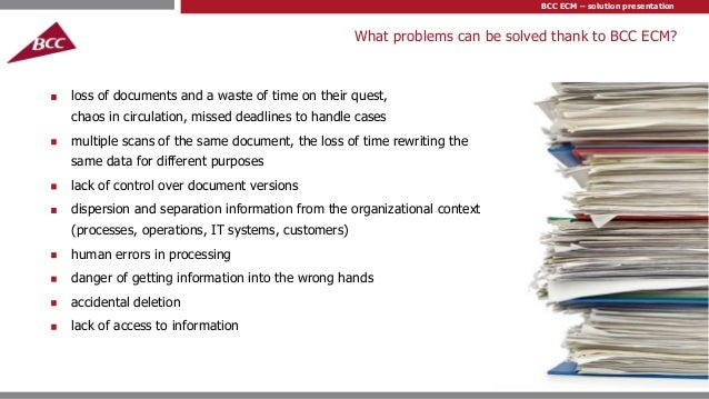 Bcc Ecm Professional Document And Business Process