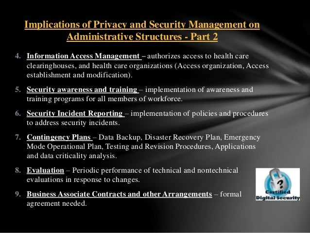 hcs 533 security and privacy This tutorial contains paper on case scenario 2 (natural disaster) case scenario 1 (security breach) the administration at st john's hospital takes pride in its sound policies and procedures for the protection of confidential client information.