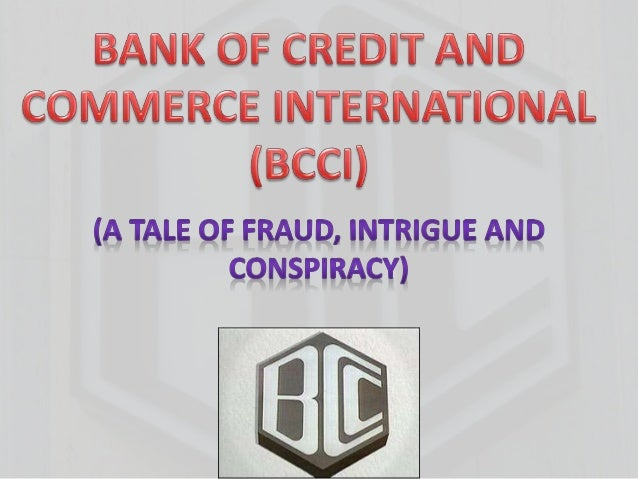 bank of credit and commerce international scandal