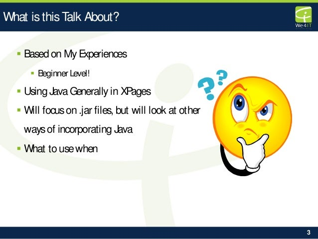 bccon-2014 dev02 xpages-coffe-from-a-friend-using-third-party-java-libraries Slide 3