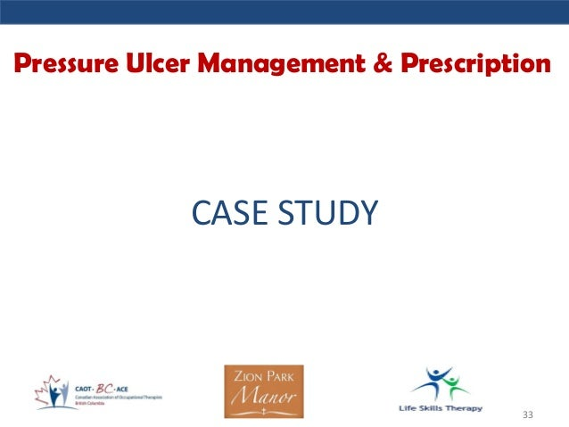 case study for pressure ulcer Pressure ulcer surveillance case study 14 december, 2013 barlow respiratory hospital is a long-term acute care (ltac) facility using the silhouette® system as the centerpiece of its wound care program for pressure ulcer surveillance.