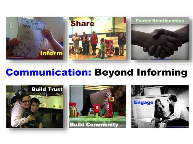 Communication: Beyond Informing