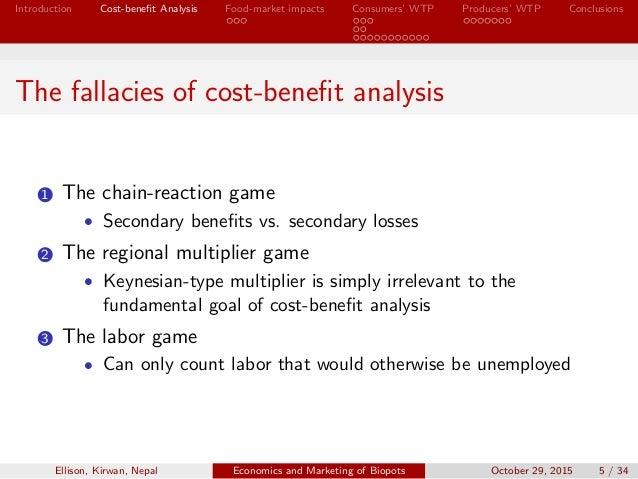 marketing cost benefit analysis