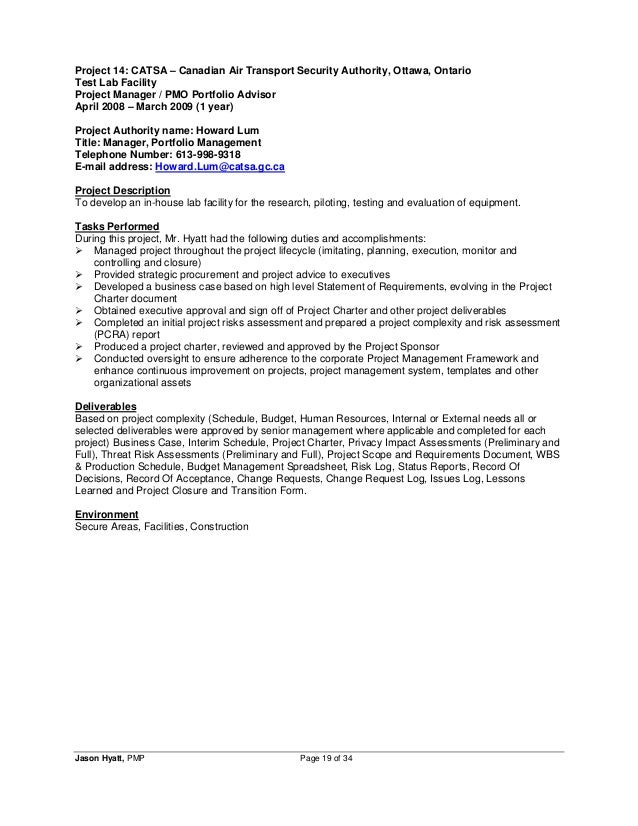project management resume template project manager resume example