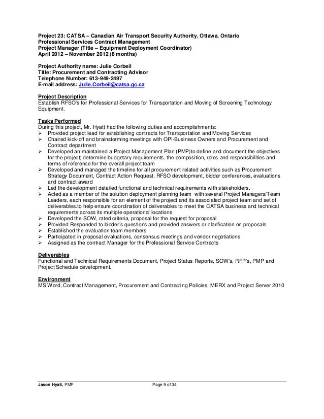 Contracts Manager Resumes