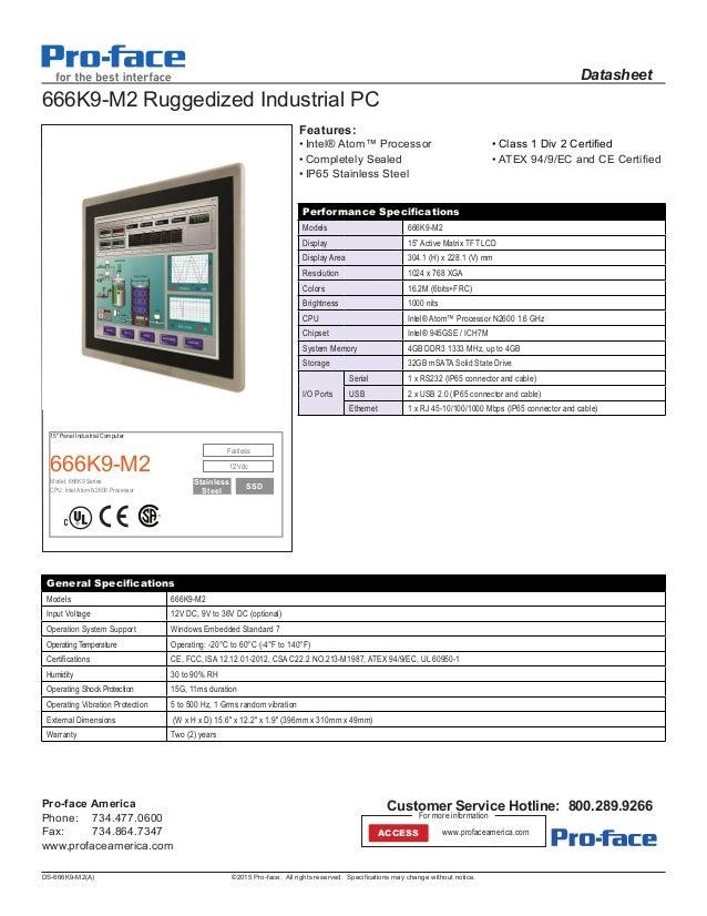 O+G PANEL PC - PROFACE 666K9-M2_DRAFT2_DS