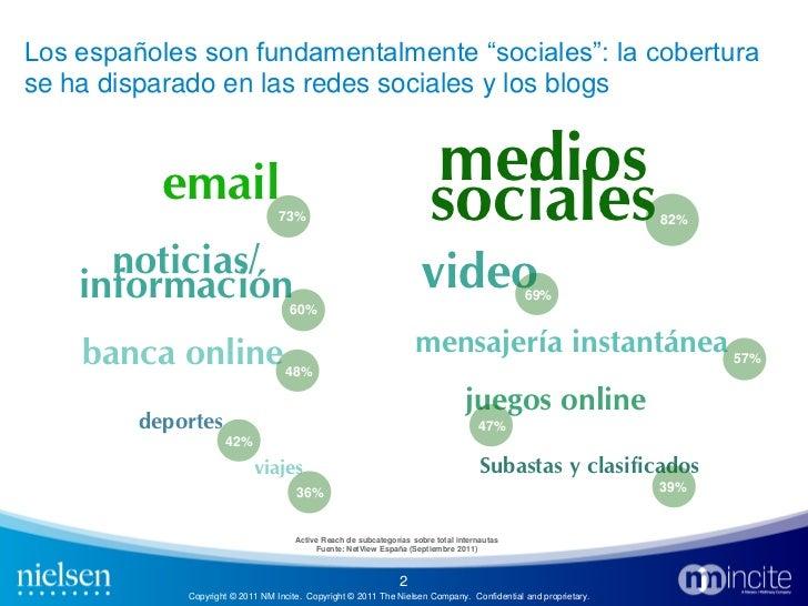 The Social Media View from Spain (Nielsen) -NOV11 Slide 2