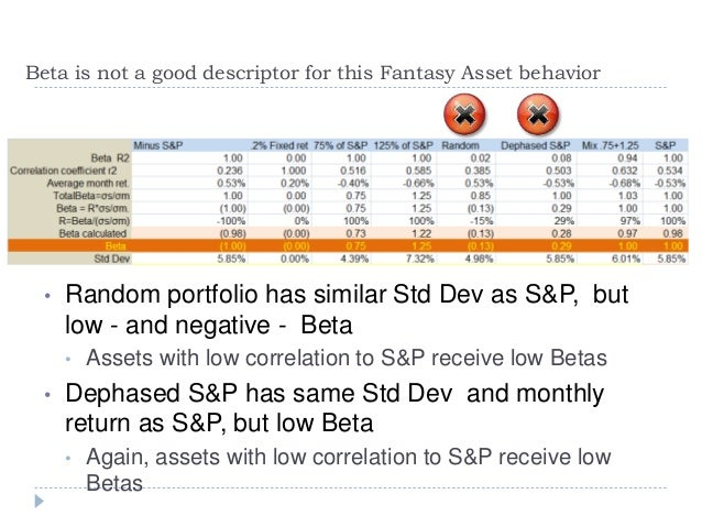 Concepts on Beta, Valuation and Diversification v6