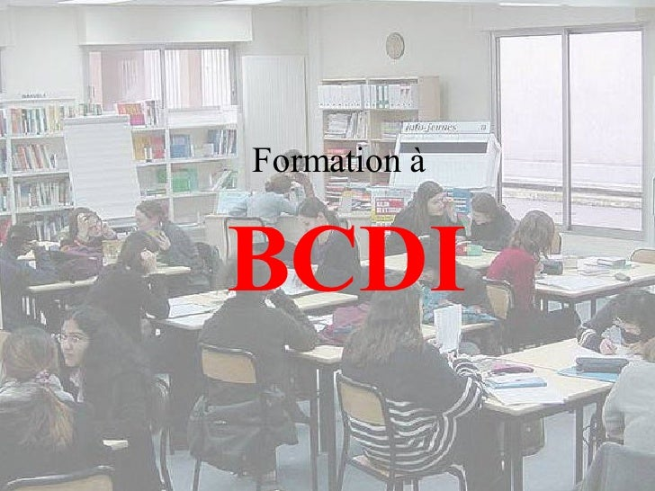 BCDI Formation à