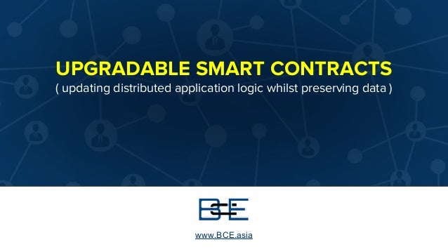 An Introduction to Upgradable Smart Contracts
