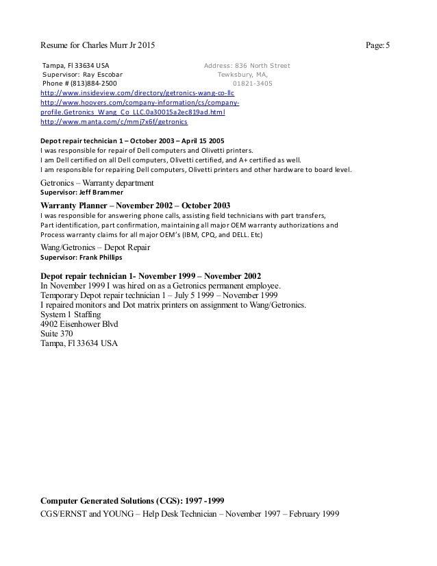 resume writing service tampa fl