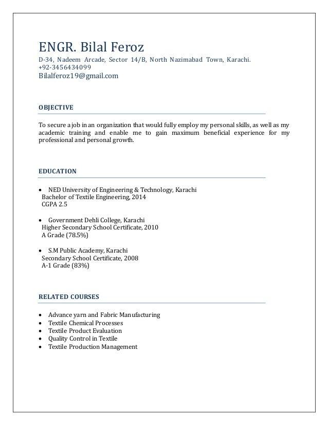 Bilal-resume