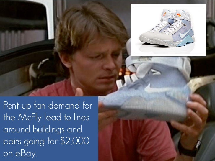 Pent-up fan demand for the McFly lead to lines around buildings and pairs going for $2,000 on eBay.