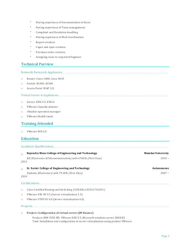 escalation manager resume professional district manager