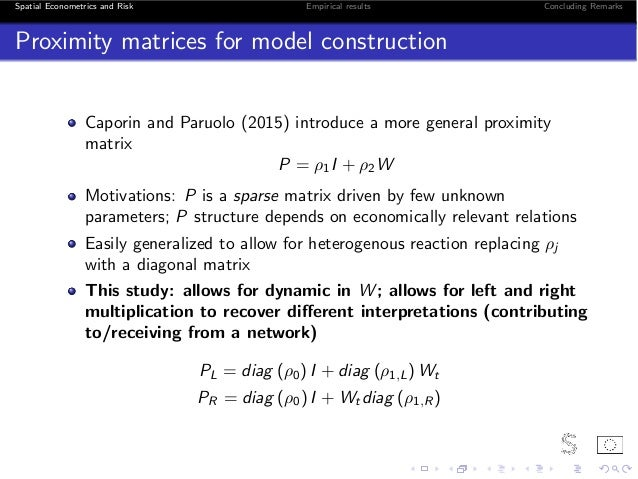 Network and risk spillovers: a multivariate GARCH perspective