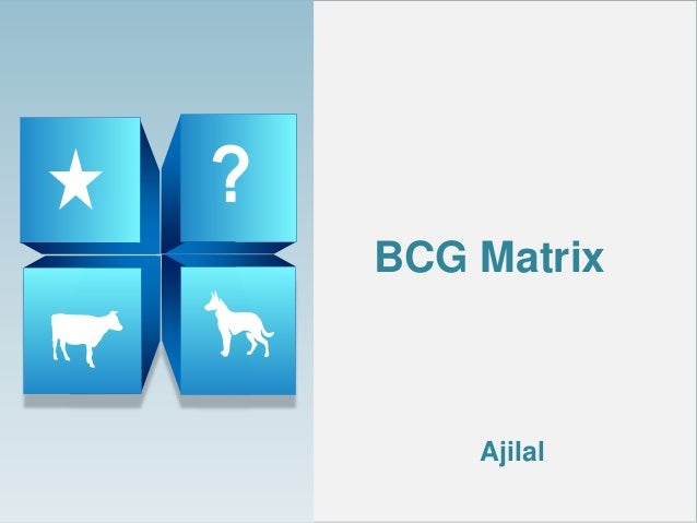Solved case study on bcg matrix