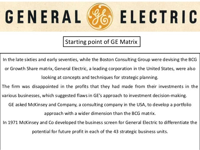 """general electric strategic position 1981 Electric: strategic position 1981 (no 381-174) and """"general electric 1984"""" (no 385-315) prepared by professors francis j aguilar and richard hamermesh and research assistant caroline brainard as well as """"general electric: jack welch's second wave (a)"""" (no 391-248), prepared by research associate kenton w."""