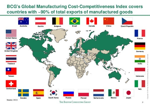 The Shifting Economics of Global Manufacturing Slide 3
