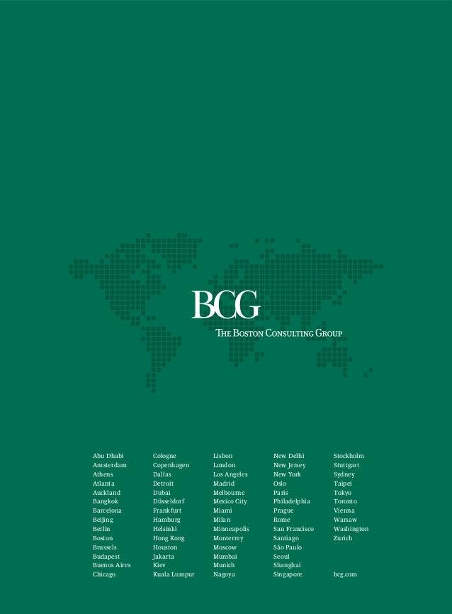 Bcg innovation 2009 for Innovation consulting atlanta