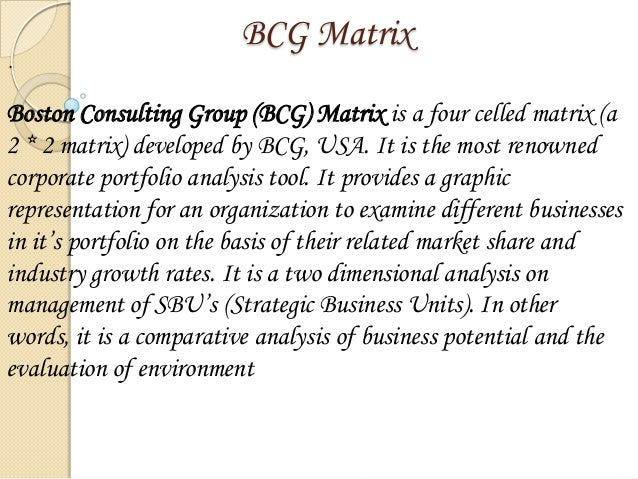 what does green symbolize in bcg matrix