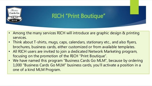 Business cards go mlm colourmoves Gallery