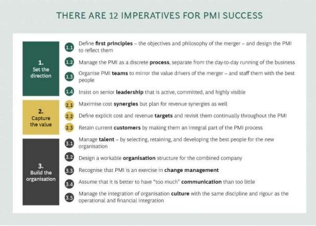 BCG on Postmerger Integration: A handbook for senior executives Slide 2