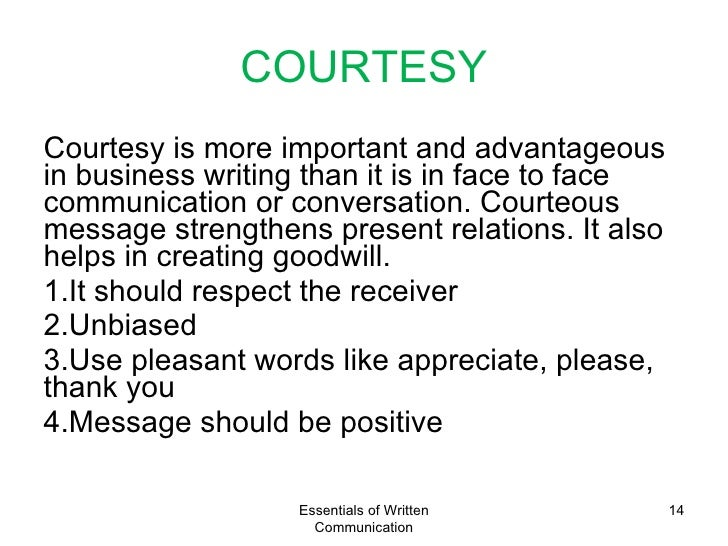 use of written communication in business Professional business communication is essential to the success of any corporation this could include writing memos, reports, or proposals small businesses all the way up to corporations can benefit from professional and technical communication there are many different forms and aspects of.