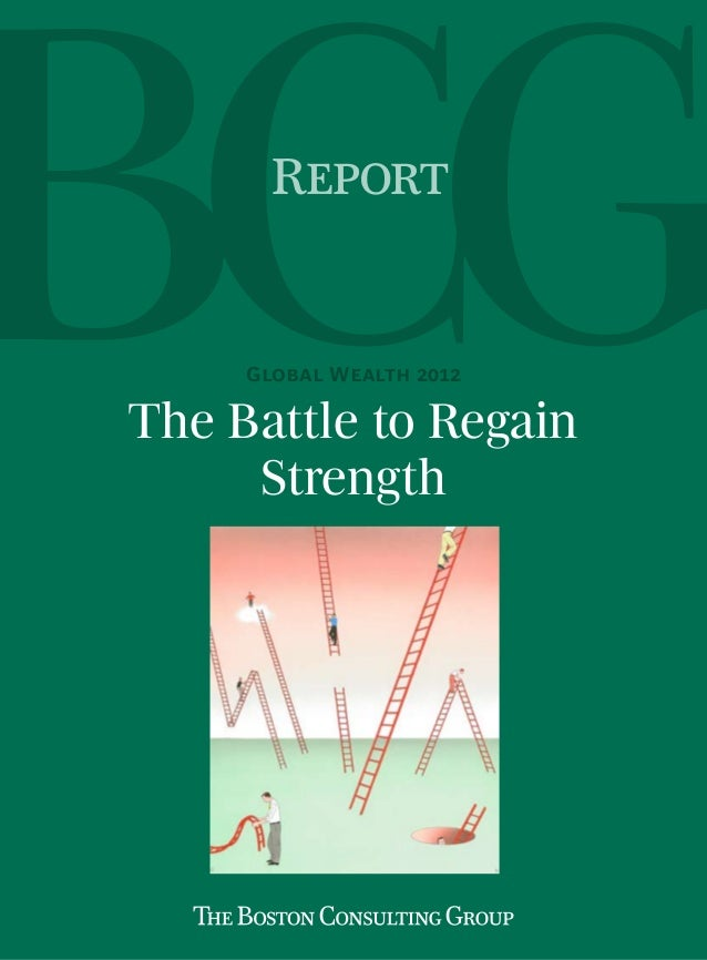 Report     Global Wealth 2012The Battle to Regain     Strength