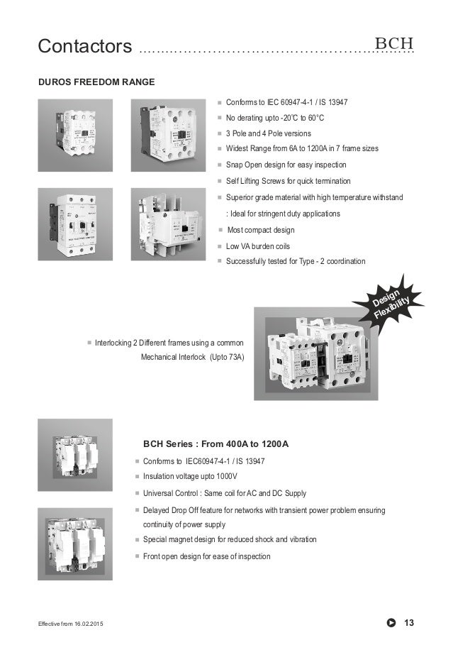 BCH Electric Limited- Complete Product Range Catalogue