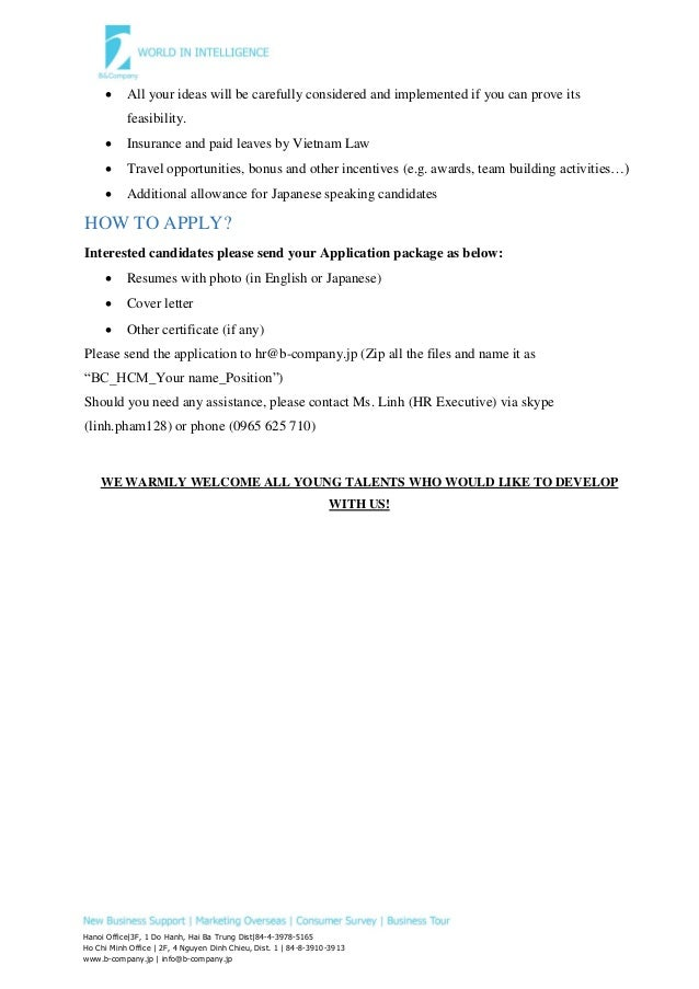 Marketing Research Assistant Cover Letter