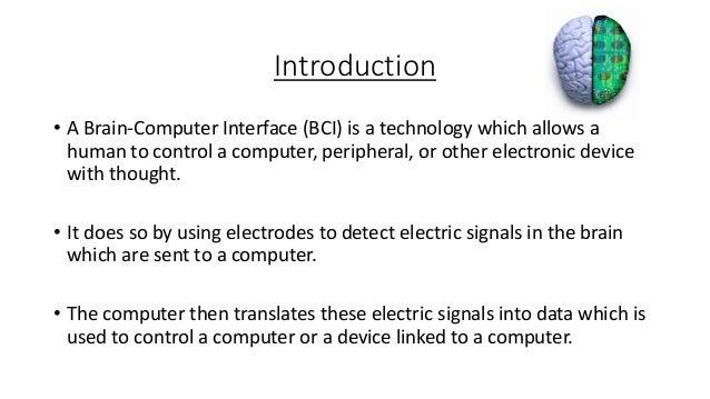 Brain-Computer Interfaces ppt Slide 2