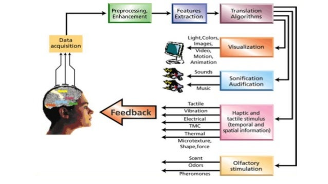 Interface The easiest and least invasive method is a set of electrodes -- a device known as an electroencephalograph (EEG)...
