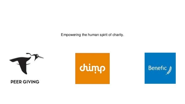 Empowering the human spirit of charity.
