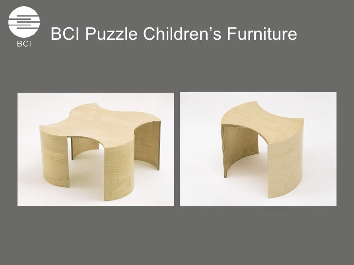 Bci Puzzle Children S Library Furniture