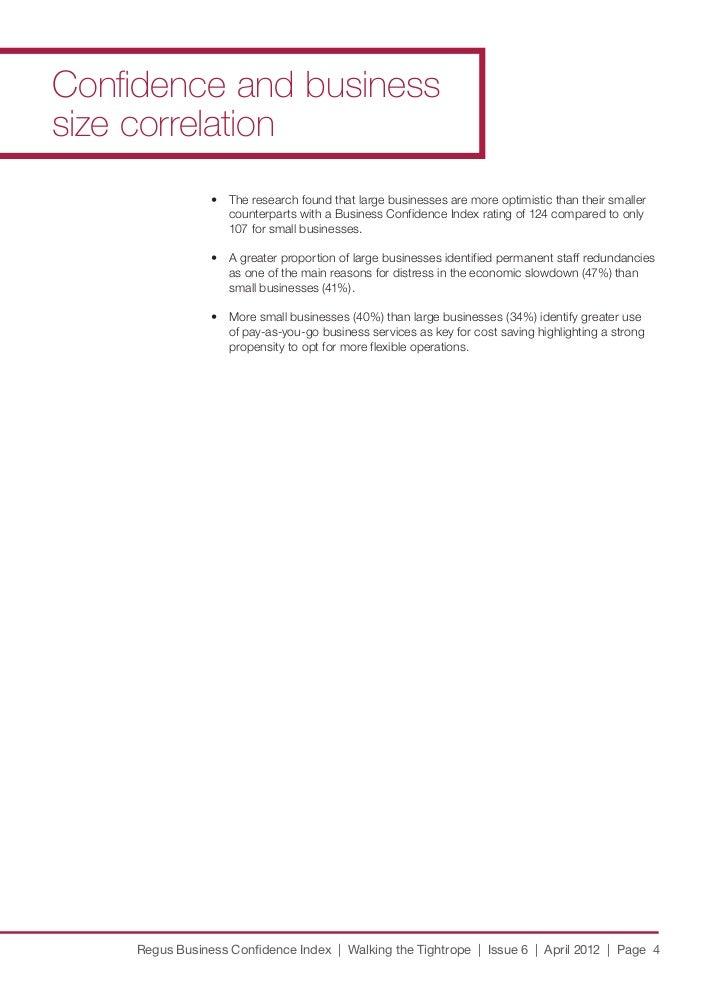 Regus Business Confidence Index Issue 6