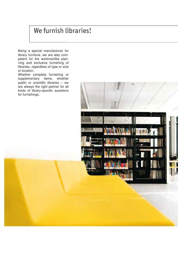 BCI Schulz Speyer Library Furniture (2012-2014) Slide 2
