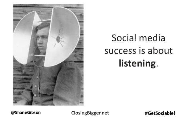 @ShaneGibson #GetSociable!