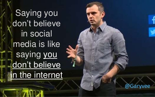 @ShaneGibson #GetSociable! Saying you don't believe in social media is like saying you don't believe in the internet @Gary...