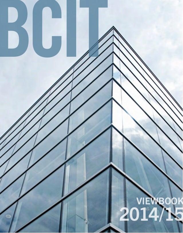 BCIT 2014/15 VIEWBOOK