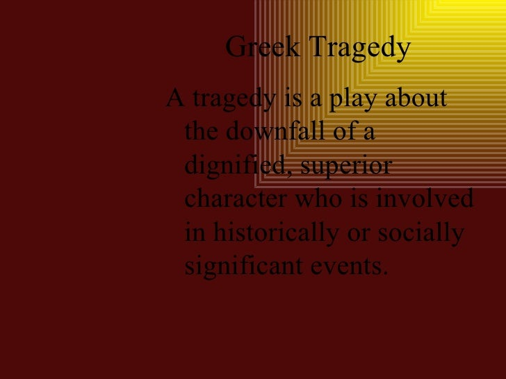 tragedy involves the downfall of a Macbeth essays plot  period 2 macbeth's downfall or the downfall of macbeth one of the  william shakespeare's macbeth is a tragedy about a war.
