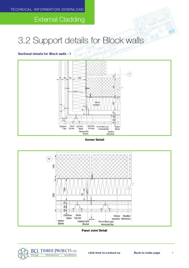 15-Working details-cladding-External Timber cladding guide