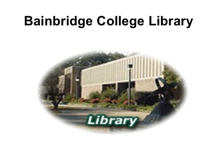 Bainbridge College Library